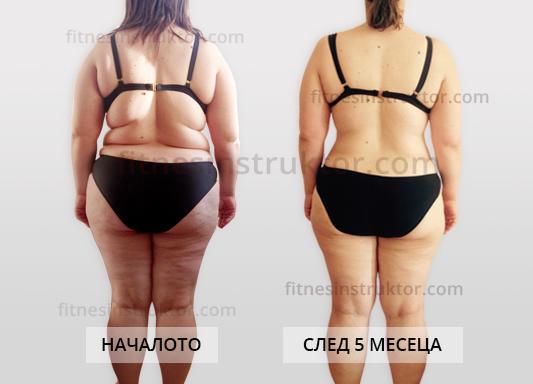 отслабване от 100 кг